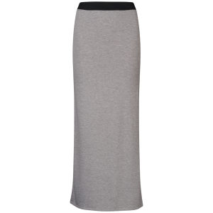 Influence Women's Jersey Maxi Skirt - Grey Marl
