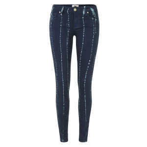 Paige Women's Verdugo Ultra Skinny Summer Night Batik Jeans - Indigo