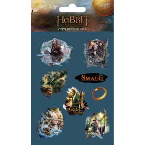 The Hobbit Desolation of Smaug (Vinyl) - Vinyl Sticker Pack