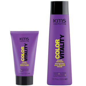 Kms California Colorvitality Blonde Hair Pack(2 件产品)