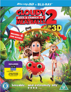 Cloudy with a Chance of Meatballs 2 3D (Includes UltraViolet Copy)