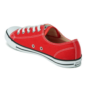 red dainty converse