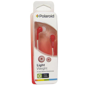 Polaroid Earphones - Red (PEP14RED)