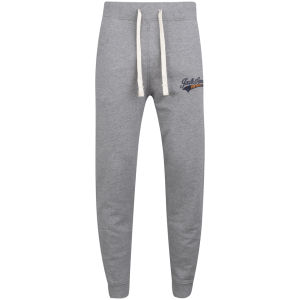 Jack & Jones Vintage Men's Access Cuffed Sweat Pants - Grey