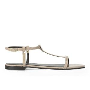 KG Kurt Geiger Women's Match Metallic Sandals - Nude