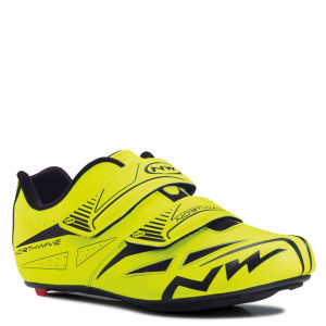 Northwave Jet Evo Cycling Shoes - Yellow Fluo