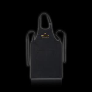 Tablier Noir Logo Maille