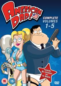 American Dad! Volumes 1 - 5 Box Set