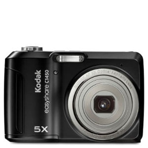 Kodak C1450 14MP Digital Camera (5x Optical Zoom) Black - Grade A Refurb