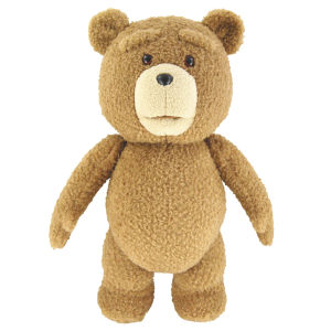 Ted 24-Inch Life Sized Talking Plush
