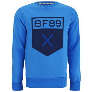 Boxfresh Men's Hadal Crew Neckline Sweat - Brilliant Blue