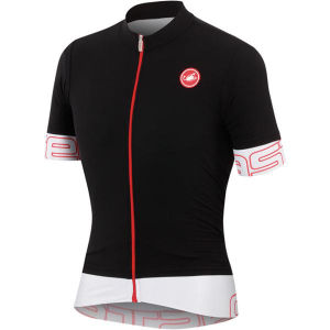 Castelli Endurance Full Zip Jersey - Black