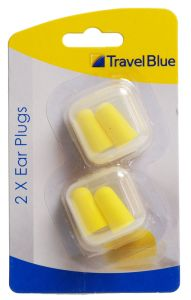 Travel Blue Flight Mate Pressure-Reducing Ear Plugs