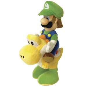 Nintendo Luigi and Yoshi Riders Plush - 22cm