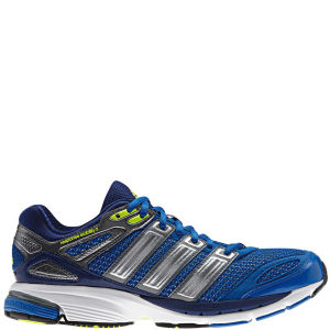 Adidas Men's Response Stabil 5 Running Shoe - Blue Beauty/Metallic Silver/Electricity