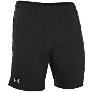 Under Armour Men's Sixth Man 2 In 1 Shorts - Black/Red/Reflective