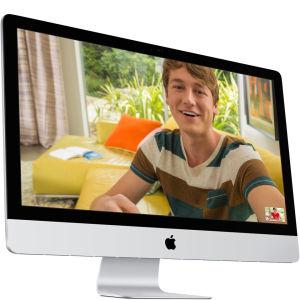 "Apple iMac MF883B/A 27"" Laptop"