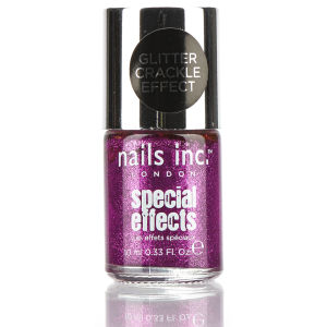 nails inc. The City Glitter Crackle Nail Polish (10ml)