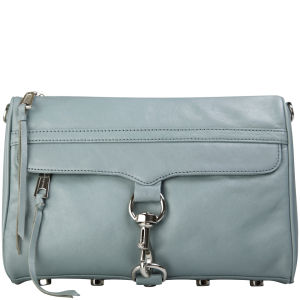 Rebecca Minkoff MAC Leather Clutch - Ash Grey