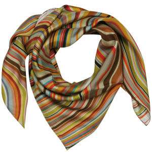 Paul Smith Accessories Women's Large Square Swirl Scarf - Multi Swirl