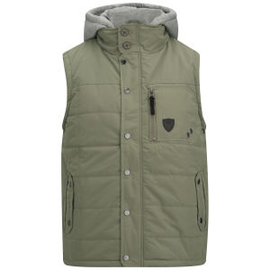 Soul Star Men's Haughton Sync Gilet - Teal