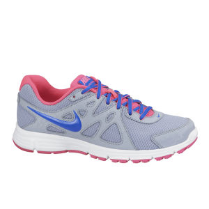 Nike Men's Revolution 2 Running Shoes - Grey/Blue/Pink