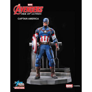 Dragon Action Heroes Marvel Age of Ultron Captain America 1:9 Scale Model Kit