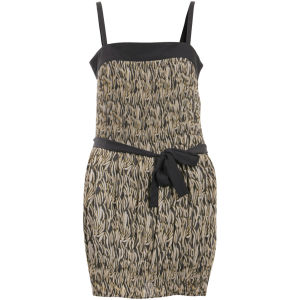 Numph Women's Elsa Pleated Dress - Mumbai Green