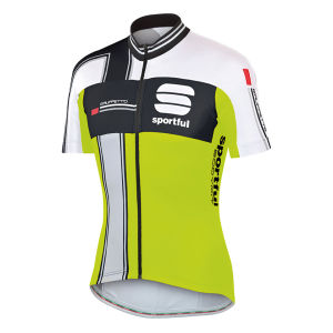 Sportful Gruppetto Team Jersey - Yellow/Black