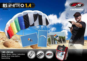Radsail Intro 1.4m Kite