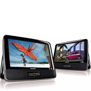 Philips PD9016/05 9-Inch Dual Screen DVD Player