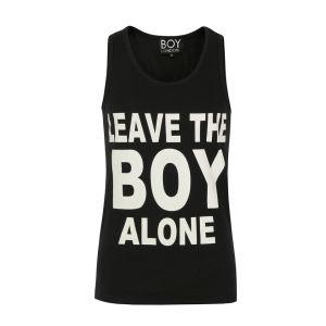 Boy London Unisex Leave The Boy Vest - Black