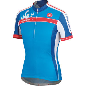 Castelli Autentica Kid Jersey - Blue