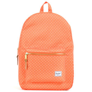Herschel Settlement Backpack - Orange Polka Dot