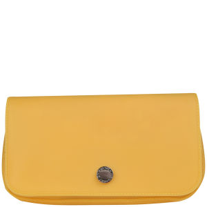 French Connection Sandy Pop Clutch - Sherbert Lemon