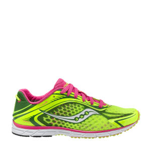 Saucony Women's Type A 5 Running Shoe - Citron/Pink
