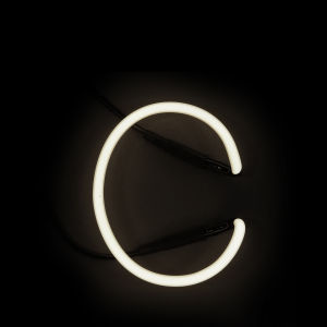Seletti Neon Wall Light - Letter C