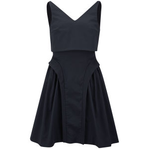 McQ Alexander McQueen Women's Suspended Dress - Sapphire