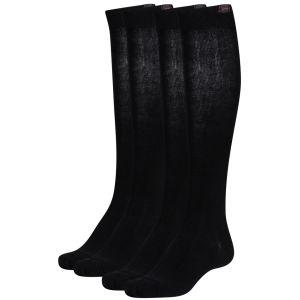 Pineapple Womens Knee High Socks - Black