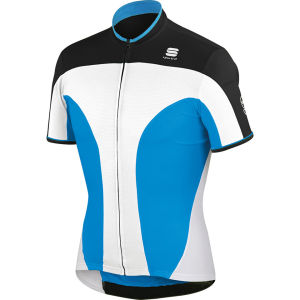 Sportful Crank 3 Jersey - White/Blue/Black