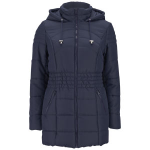 Vero Moda Women's Sona Long Padded Coat - Black Iris