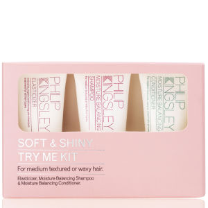 Philip Kingsley Soft and Shiny Try Me Kit 20ml Worth £9.00