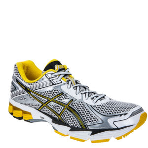 Asics Men's Gt 1000 2 Running Trainers - White/Onyx/Yellow