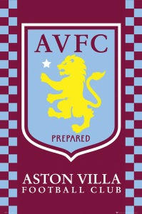 Aston Villa Club Crest - Maxi Poster - 61 x 91.5cm