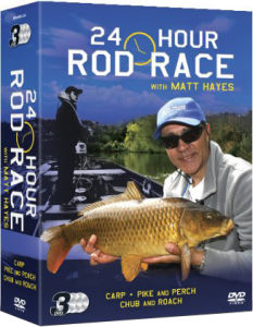 Matt Hayes 24 Hour Rod Race - Triple Box Set