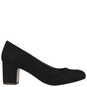 Carvela Women's Ashden Heeled Suede Court Shoes - Black