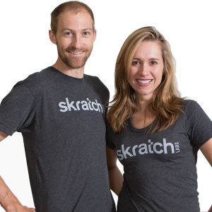 Skratch Labs Logo T-Shirt - Heather