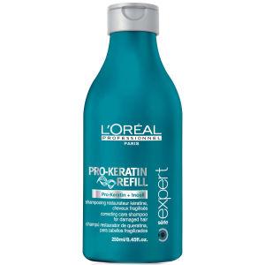 L'Oreal Professionnel Serie Expert Pro-Keratin Refill Shampoo (1500ml) and Pump