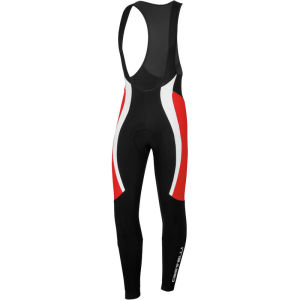 Castelli Velocissimo Bib Tights - Black/White/Red