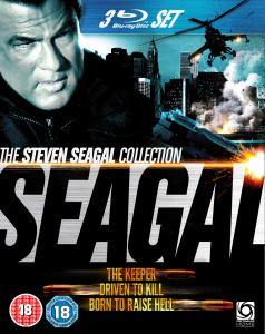Seagal Triple (Driven To Kill / The Keeper / Born To Raise Hell)